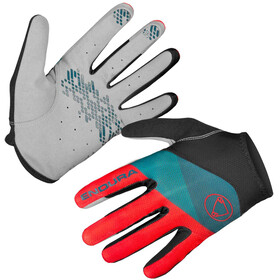Endura Hummvee Lite Bike Gloves red/teal